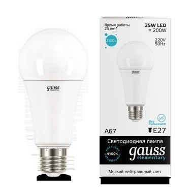 Gauss LED Elementary A67 73225