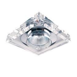 Lightstar (052920) Светильник SOLO QUAD MR16  ХРОМ/ПРОЗРАЧНЫЙ, 002050