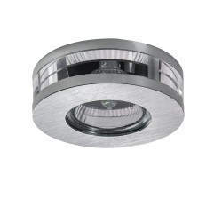 Lightstar (003920) Светильник ALUME CYL LO MR16/HP16 АЛЮМ ХРОМ/ПРОЗРАЧНЫЙ, 002079