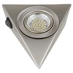 Lightstar Светильник MOBILED ANGO LED 3.5W 270LM 90G НИКЕЛЬ 3000K, 003145