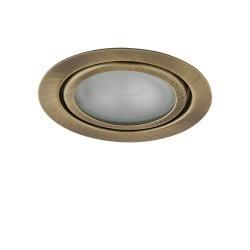 Lightstar Светильник MOBI INC G4 БРОНЗА ЗЕЛЕНАЯ/МАТОВЫЙ, 003201
