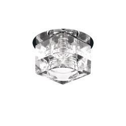 Lightstar Светильник ROMB CR G4 ХРОМ/ПРОЗРАЧНЫЙ, 004060