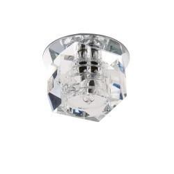 Lightstar Светильник ROMB MICRO CR G4  ХРОМ/ПРОЗРАЧНЫЙ, 004064