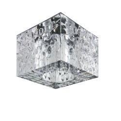 Lightstar  Светильник BOLLA QUBE CR G5.3 ХРОМ/ПРОЗРАЧНЫЙ, 004160