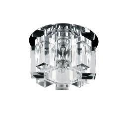 Lightstar 004550-G5.3 Светильник PILONE CYL CR G5.3 ХРОМ/ПРОЗРАЧНЫЙ, 004550R