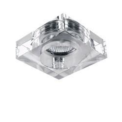 Lightstar Светильник LUI CR MR16/HP16 ХРОМ/ПРОЗРАЧНЫЙ, 006120
