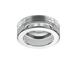 Lightstar Светильник LEI MINI MR16/HP16 ХРОМ/ПРОЗРАЧНЫЙ, 006134