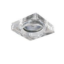 Lightstar Светильник LUI MINI CR MR16/HP16 ХРОМ/ПРОЗРАЧНЫЙ, 006140