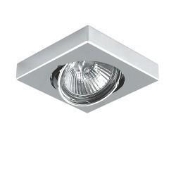 Lightstar Светильник MATTONI QUAD MR16/HP16  ХРОМ, 006244