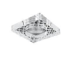 Lightstar Светильник FACETO QUA CR MR16  ХРОМ/ПРОЗРАЧНЫЙ, 006320