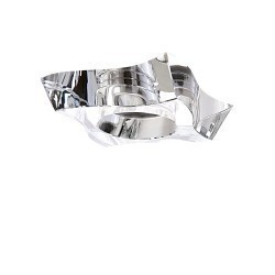 Lightstar Светильник FLUTTO MR16/HP16 ХРОМ/ПРОЗРАЧНЫЙ, 006430