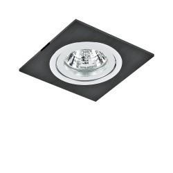 Lightstar Q Светильник BANALE WENG QUA MR16/HP16 ХРОМ, 011007