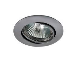 Lightstar Светильник LEGA HI ADJ MR16/ HP16 ХРОМ МАТОВЫЙ, 011029