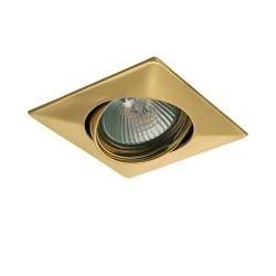 Lightstar Светильник LEGA QUA ADJ MR16/HP16 ЗОЛОТО, 011032