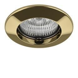 Lightstar Светильник LEGA LO FIX MR11/HP11 ЗОЛОТО, 011042