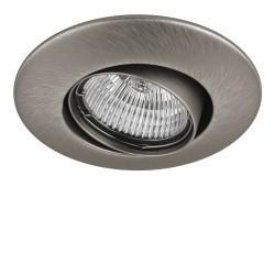Lightstar Светильник LEGA LO ADJ MR11/HP11 НИКЕЛЬ, 011055