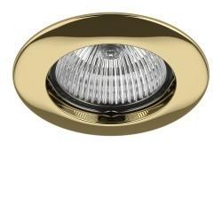 Lightstar Светильник TESO FIX MR16/HP16 ЗОЛОТО, 011072