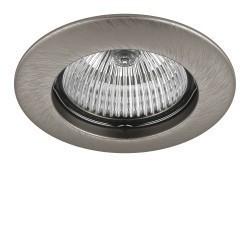 Lightstar Светильник TESO FIX MR16/HP16 НИКЕЛЬ, 011075