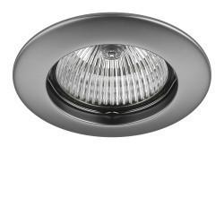 Lightstar Светильник TESO FIX MR16/HP16  ХРОМ МАТОВЫЙ, 011079