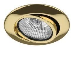 Lightstar Светильник TESO ADJ MR16/HP16 ЗОЛОТО, 011082