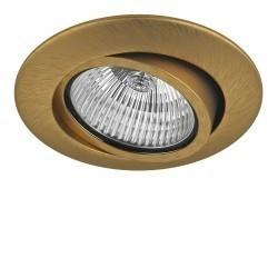 Lightstar Светильник TESO ADJ MR16/HP16 ЛАТУНЬ, 011083