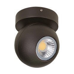 Lightstar  Светильник GLOBO LED 8W 40G ЧЕРНЫЙ 3000K IP65, 051007