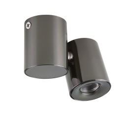 Lightstar Светильник PUNTO LED 3W 190LM 20G ЧЕРНЫЙ ХРОМ 4000K IP40, 051127