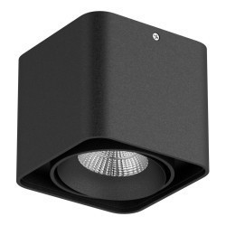 Lightstar Светильник MONOCCO LED10W 860LM 30G ЧЕРНЫЙ 4000K 052117, 052117