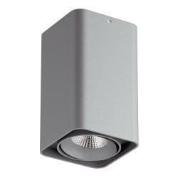 Lightstar Светильник MONOCCO LED10W 860LM 30G СЕРЫЙ 4000K 052139, 052139