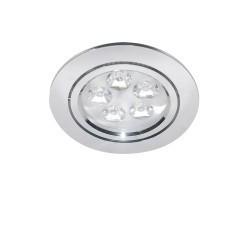 Lightstar Светильник ACUTO LED 5W 450LM ХРОМ 3000K, 070052