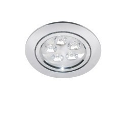 Lightstar Светильник ACUTO LED 5W 450LM ХРОМ 4000K, 070054