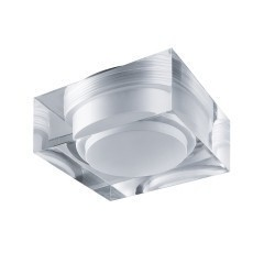 Lightstar Светильник ARTICO QUA LED 5W 400LM ХРОМ/ПРОЗРАЧНЫЙ/МАТОВЫЙ 4000K, 070244