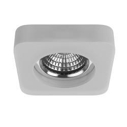 Lightstar Светильник ACRILE QUAD LED 5W 425LM 40G ХРОМ/ПРОЗРАЧНЫЙ 4000K, 073480