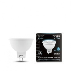 Лампа Gauss LED MR16 101505207