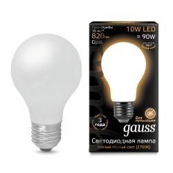 Лампа Gauss LED Filament A60 102202110