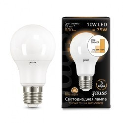 Лампа Gauss LED 102502110-S