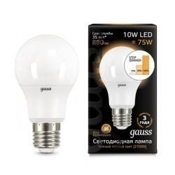 Лампа Gauss LED 102502110-S