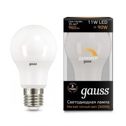 Gauss LED A60 dimmable 102502111-D