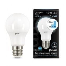 Лампа Gauss LED 102502210-S