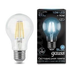 Лампа Gauss LED Filament A60 102802210