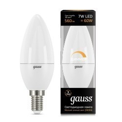 Gauss LED Candle dimmable 103101107-D