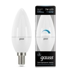 Gauss LED Candle dimmable 103101207-D