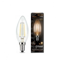 Лампа Gauss LED Filament Candle 103801105
