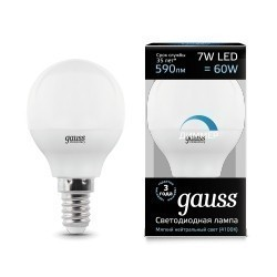 Gauss LED Globe dimmable 105101207-D