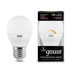 Gauss LED Globe dimmable 105102107-D