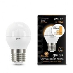 Лампа Gauss LED 105102107-S