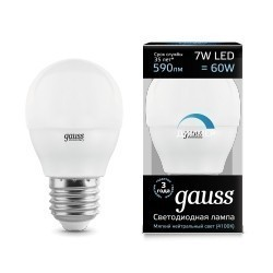 Gauss LED Globe dimmable 105102207-D