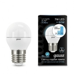 Лампа Gauss LED 105102207-S