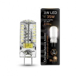 Лампа Gauss LED GY6.35 107719103