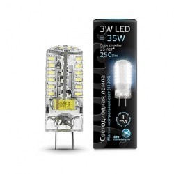 Лампа Gauss LED GY6.35 107719203